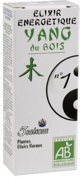 5Saisons Elixir Nº1 Yang de la Madera 50ml