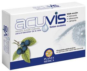 Planta Medica Acuvis gotas oculares 10 monodosis