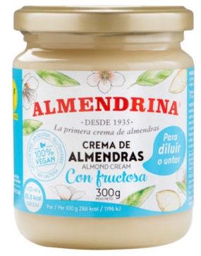 Almendrina Crema de Almendras Sin Azúcar 300g