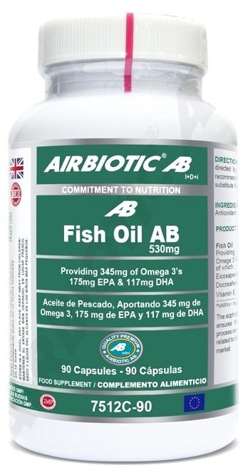 Arbiotic Aceite de Pescado AB 530mg 90 cápsulas