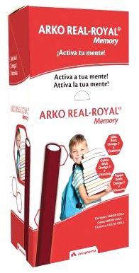 Arkoreal Memory Jalea Real + Omega 3 + Vitamina Sabor Cola 25gr 50 Barritas