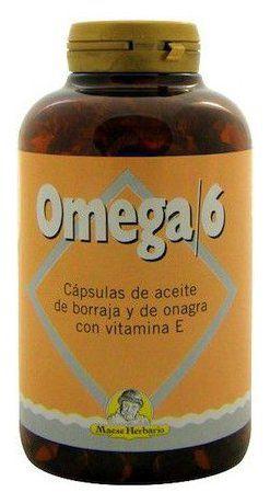 Artesania Agricola Omega 6 Onagra y Borraja 410 perlas