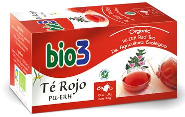 Bie3 Té rojo Pu-Erh 25 infusiones