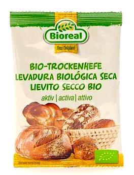 Bioreal levadura Bio para pan y pasteles 9 gr