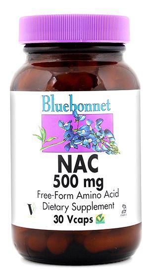 Bluebonnet NAC 500mg 30 cápsulas