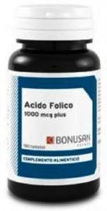 Bonusan Ácido Fólico 1000 mcg plus 90 comprimidos