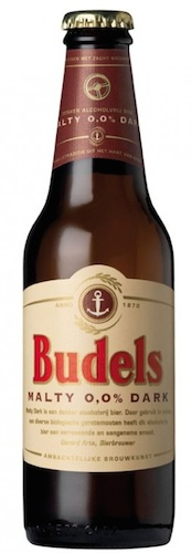 Budels Cerveza malteada dark 0% alcohol bio pack 6 unidades 30cl
