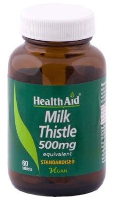 Health Aid Cardo mariano 500mg 60 comprimidos