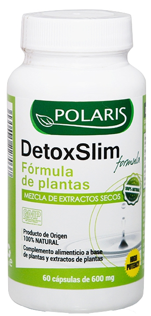 Polaris Detox Slim 500mg 60 cápsulas