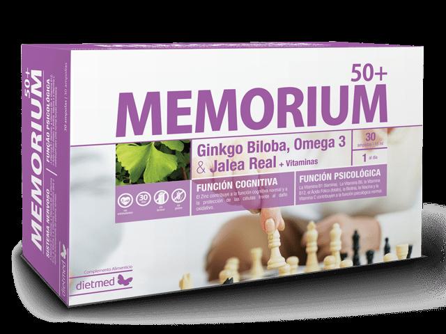 Dietmed Memorium 50+ 15 ampollas