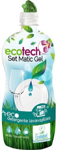Ecotech Detergente lavavajillas en gel bio 750ml