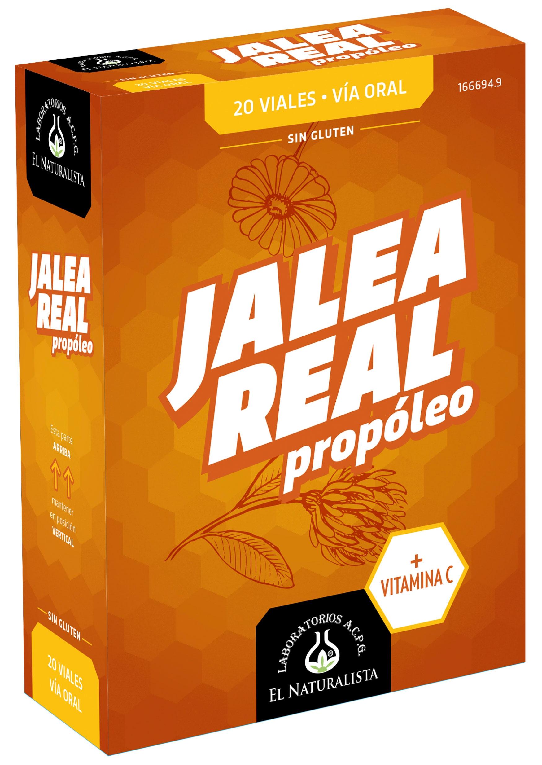 El Naturalista Jalea Real Adultos con Propóleo 20 viales