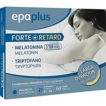 Epaplus Melatonina forte 1.98mg + triptofano 60 cápsulas