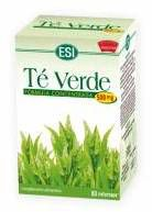 ESI Té Verde 60 cápsulas