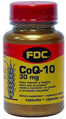 FDC Coenzima Q10 30mg 50 cápsulas