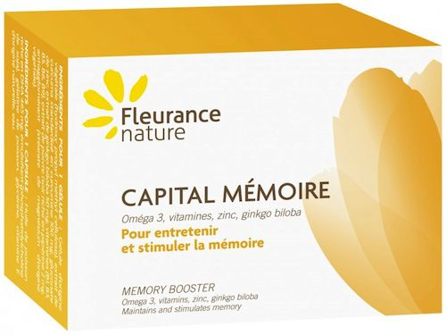 Fleurance nature Memoria Plus 30 cápsulas blandas + 30 cápsulas duras