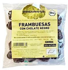 Organicus Frambuesas con chocolate bio 80g