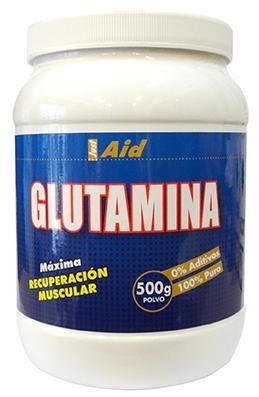 Just Aid L-Glutamina Pura 500g