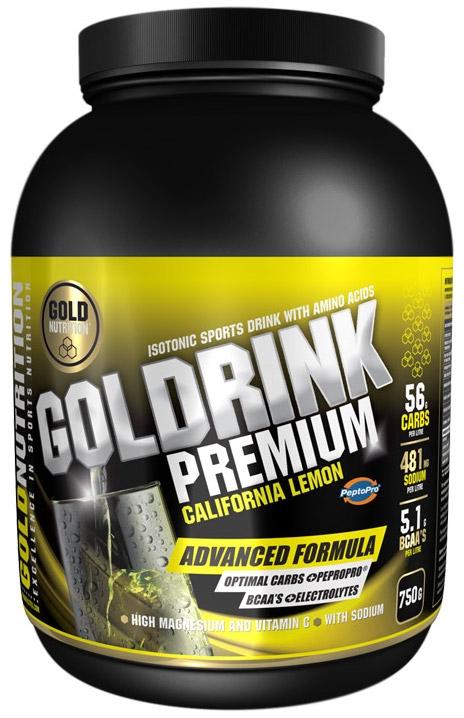 Gold Nutrition Gold Drink Premium Sabor Limón 750gr