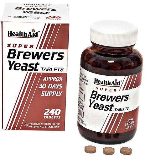 Health Aid levadura de cerveza 300mg 240 comprimidos
