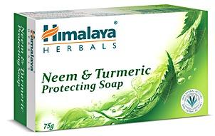Himalaya pastilla de jabon de Neem y Curcuma 75 gramos