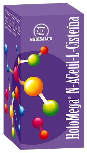 Equisalud Holomega N-Acetyl L-Cisteina 50 cápsulas