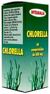 Integralia Chlorella 500mg 60 comprimidos