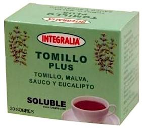 Integralia Tomillo Plus soluble 20 sobres