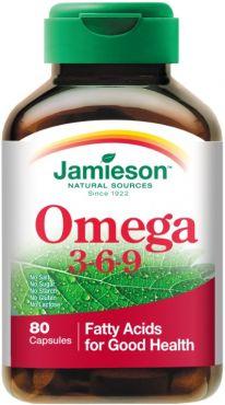 Jamieson Omega 3 6 9 1200mg 80 perlas