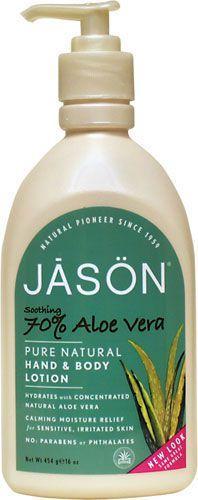 Jason Loción Corporal Aloe Vera 70% 454g