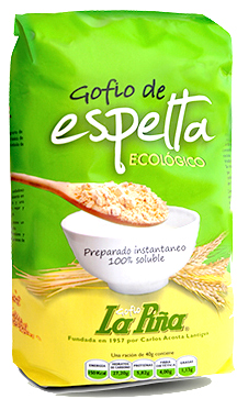 La Piña Gofio de espelta bio 500g