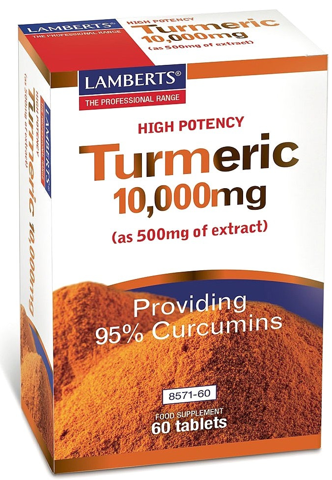 Lamberts Cúrcuma 10000 mg 60 comprimidos