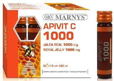Marnys Apivit C 1000mg 20 viales