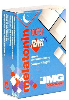 MGDose Melatonina Travel 1,9mg 90 comprimidos