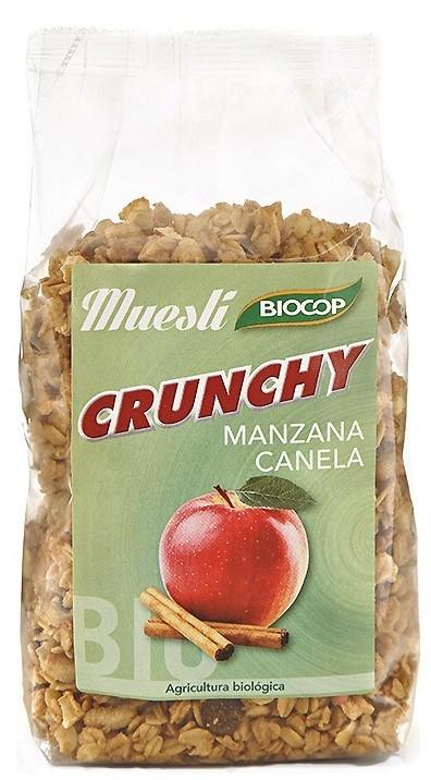 Biocop Muesli Crunchy Manzana Canela Bio 375gr
