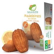 Nature&Cie Magdalenas con limón sin gluten bio 150g