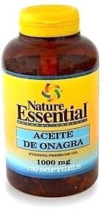 Nature Essential aceite de onagra 1000mg 100 perlas