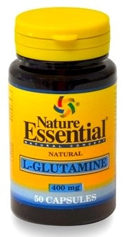 Nature Essential l-glutamina 400mg 50 cápsulas