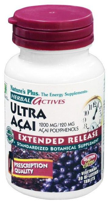 Nature's Plus Ultra Açai 30 comprimidos