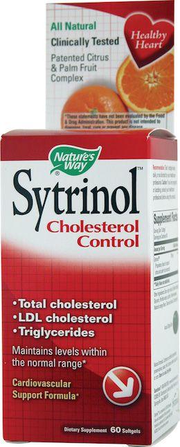 Nature's Way Sytrinol Control del Colesterol 60 cápsulas