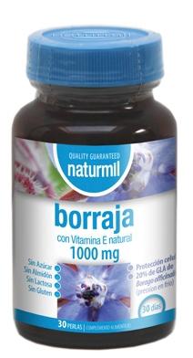 Naturmil Borraja 1000mg 30 perlas