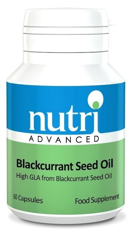 Nutri Advanced Blackcurrant seed oil 60 capsulas