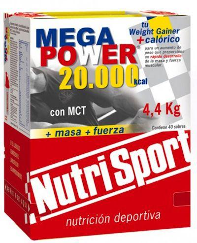 Nutri Sport Mega Power 20000 Fresa 40 sobres