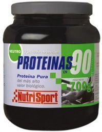Nutri Sport Proteinas 90% sabor neutro 700g