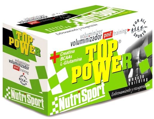Nutri Sport Top Power Chocolate 24 sobres
