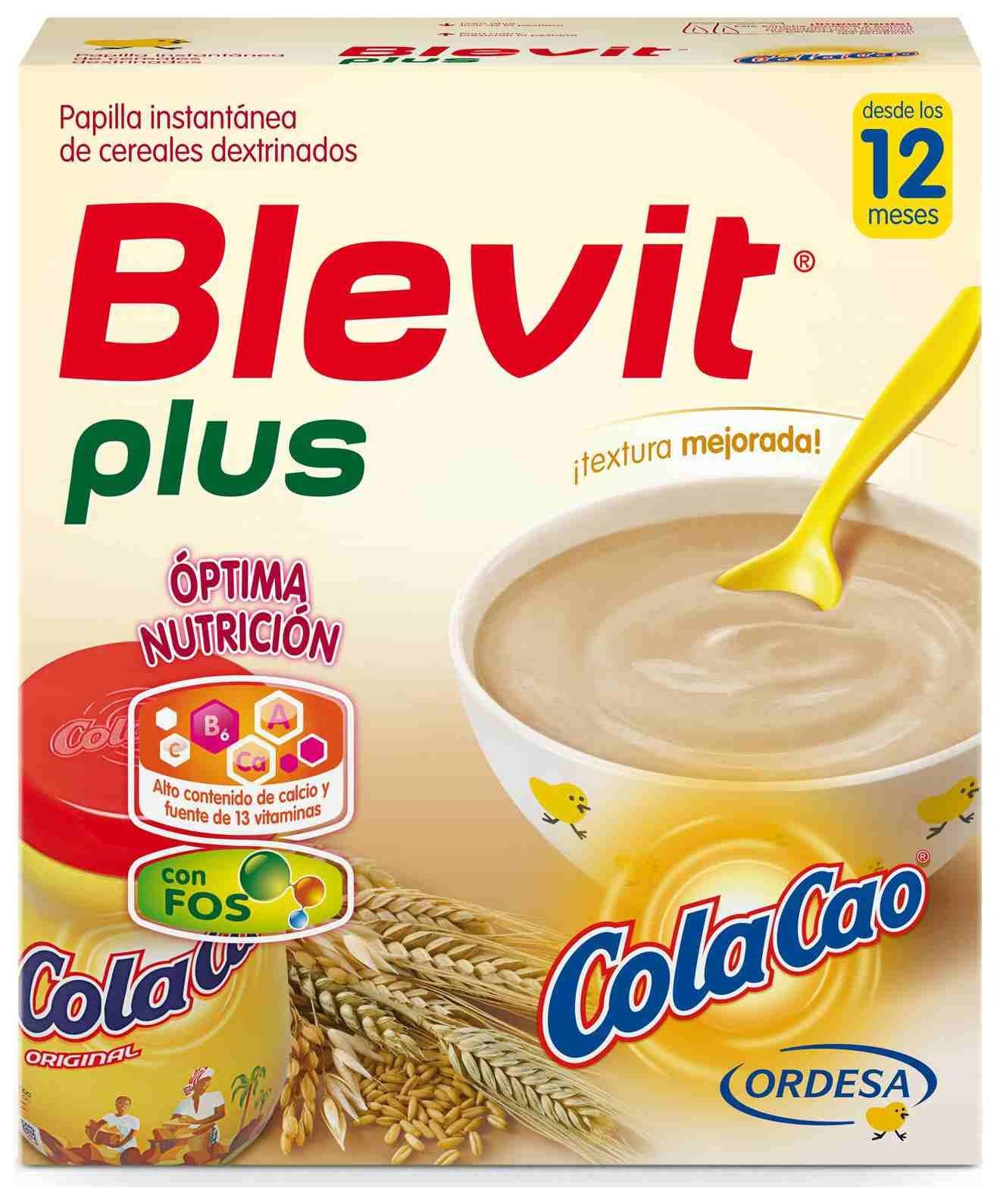 Ordesa Blevit Plus Cola Cao 600gr