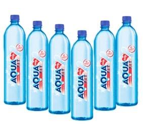 Aquafit agua alcalina ph9+ - Pack de 6 botellas de 1litro