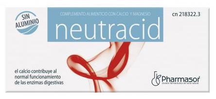 Pharmasor Neutracid 40 comprimidos