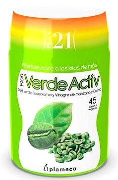 Plameca Plan 21 Verde-Activ 45 cápsulas vegetales