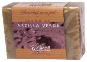Plantapol Jabón Natural Arcilla Verde 100g